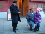 Lenin and Stalin - alive!
