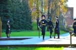 The Gardens of Tsar Alexandr I - changing of the guard
